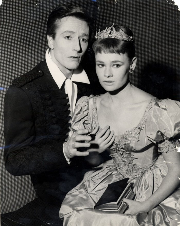 Judi Dench as Ophelia in 1957. 23 is way too young, right?